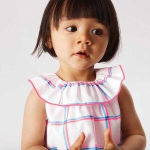 低至6折!€35收纯棉连衣裙Jacadi 会员大促 法国高档童装品牌 超多明星宝宝衣柜专属