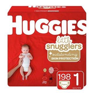 立减$5+包邮 $32.77起Huggies Little Snugglers 系列尿不湿特卖,N到6号码全
