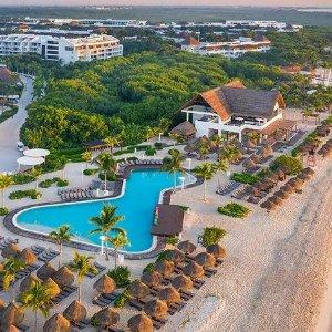$94起 含住宿+餐饮+娱乐活动墨西哥卡门滩 海洋天堂海滨4.5星全包度假村