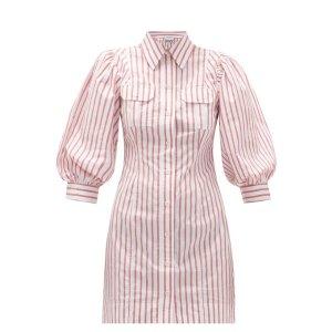 Ganni衬衫裙