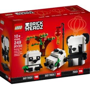共4款 情人节爱心熊€14.99新品预告:LEGO 方头仔系列1月新品来啦 封面款中国熊猫€19.99