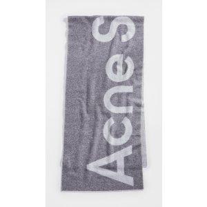 Acne StudiosToronty 徽标围巾