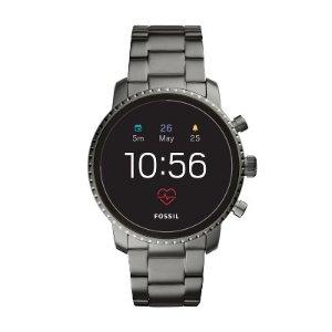 Coming Soon: Fossil Gen 4 Smartwatch Explorist HR 45mm Smoke Stainless Steel