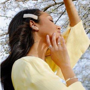 无门槛8.5折 收封面网红发夹Astrid & Miyu US官网 精选首饰热卖