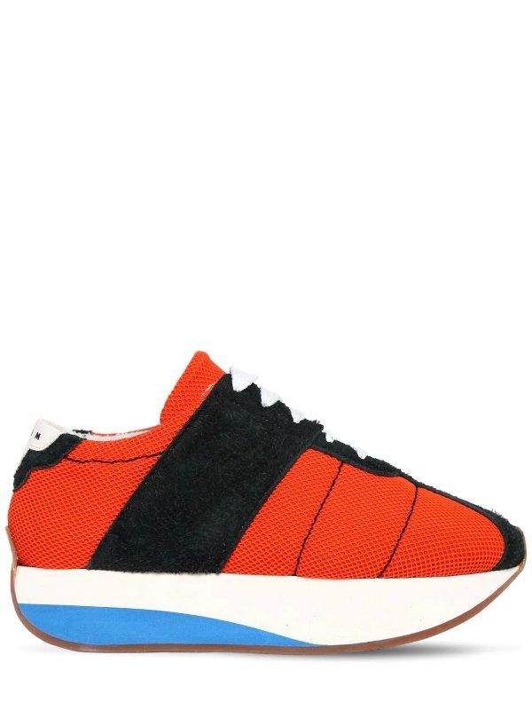 SUEDE & MESH 休闲鞋