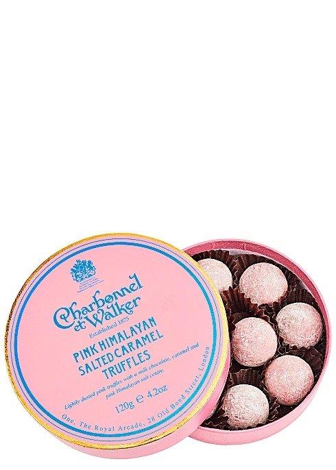 粉色喜马拉雅盐焗焦糖巧克力松露 120g