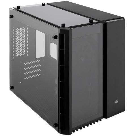 Corsair Crystal Series 280X 钢化玻璃 mATX 机箱