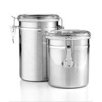 Tools of the Trade 不锈钢食物储存罐2个