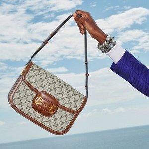 定价优势 £595收老花腰包Gucci 男包惊喜上线 男生背帅气 女生背酷炫 超多经典款