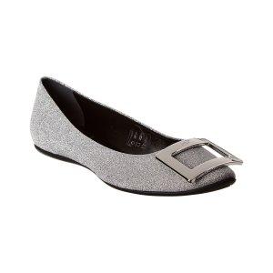 方扣平底鞋