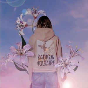5折起 €51收T恤Zadig & Voltaire 夏季大促开始 暗黑高冷法风潮牌 与众不同
