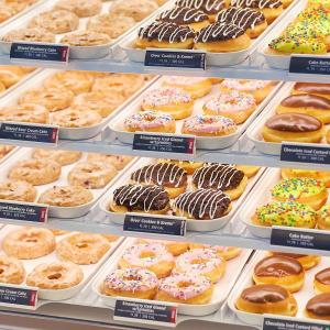 买2盒送1盒Krispy Kreme 甜甜圈周末促销预告