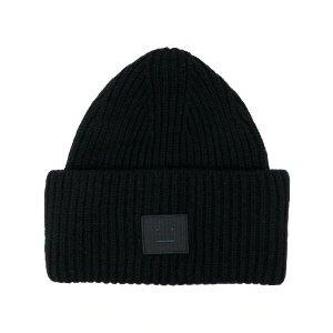 Acne Studios笑脸羊毛帽