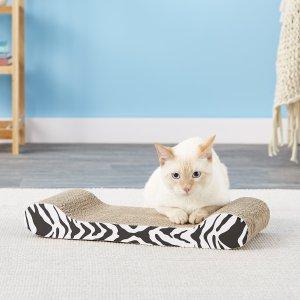Catit Lounge Scratcher with Catnip