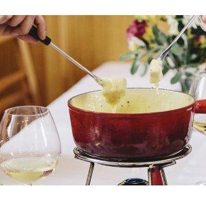 2人餐$39 (原价$92)墨尔本The Swiss Restaurant 传统芝士火锅