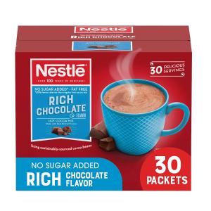 $5.65 每小包$0.18Nestle 热巧克力可可粉 30小包