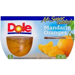 Dole 橘子果肉杯 4个