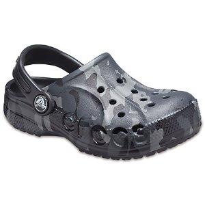 CrocsBaya 迷彩洞洞鞋