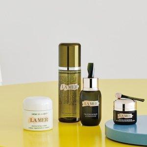 低至6.2折+多品牌送好礼+晒单抽奖最后一天:Nordstrom 美妆周年庆  Lamer送护肤5件套