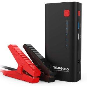 $76.49(原价$90)GOOLOO 1200A Peak 便携式移动电源汽车电瓶紧急启动电源