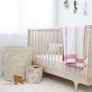 8折 热卖小毯子补货Petit Pehr 儿童床上用品、口水巾、储物篮等特卖