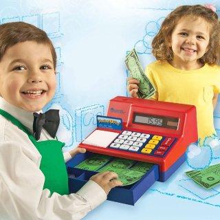 $21.92 (原价$39.99)Learning Resources 儿童计算机收银机玩具 带纸币