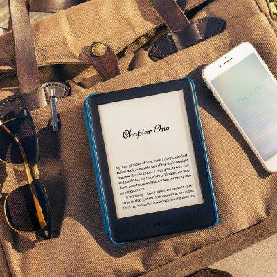 仅限今日史低价:Kindle 全新黑色6