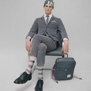 定价优势+额外9折 POLO衫$235上新:Thom Browne 经典服饰热卖,经典衬衣$369
