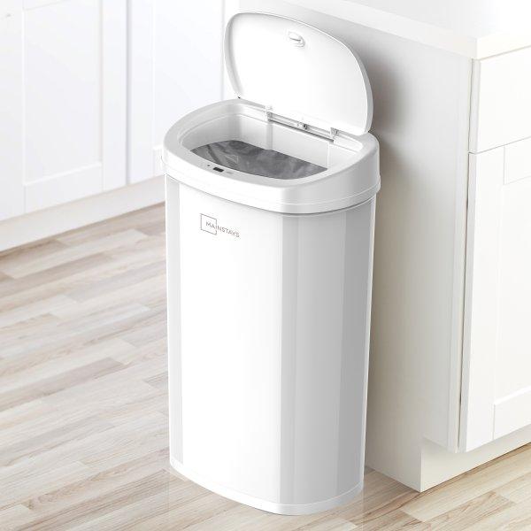 Mainstays 自动感应智能垃圾桶 13.2 Gal/50 L 4色可选