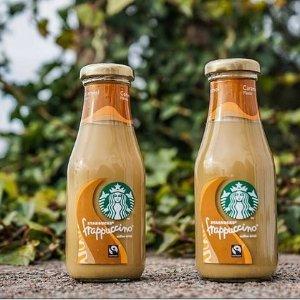 单瓶星冰乐仅£1收Starbucks 星巴克即饮咖啡饮料大促 摩卡、玛奇朵带回家