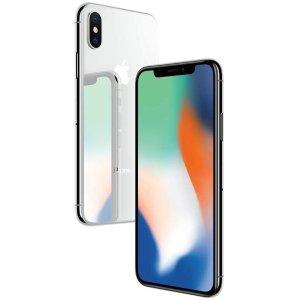 $769(原价$850)翻新版Apple iPhone X  256GB 无锁版 银色