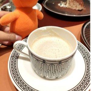 豪华套餐仅€11 五星级体验Herme café:巴黎爱马仕下午茶 精致优雅 快和小姐妹约起来