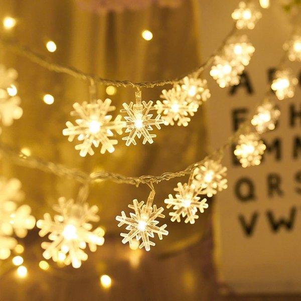 雪花造型LED装饰灯
