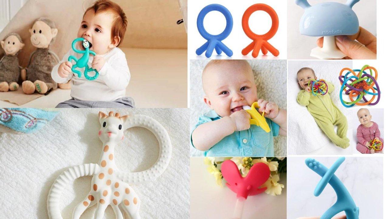 八款网红牙胶全面大测评🍌该给宝宝买哪款,看完才知道❗️