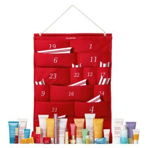 Clarins内含12件畅销产品圣诞日历- 12 cases