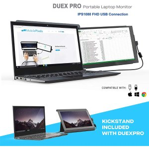 Mobile Pixels Duex Pro Portable Dual Monitor for Laptops