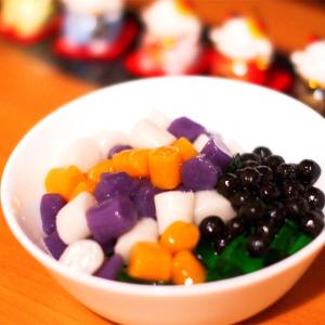 【第116期原创之星】自制Q弹三色芋圆,真材实料的味道请甜品店靠边站