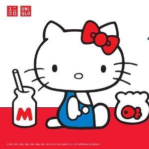 $3.9起+包邮 Hello Kitty、小黄人还有货最后一天:Uniqlo 合作款T恤、卫衣热卖 芝麻街主题卫衣$5.9