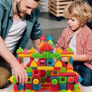 $29.99(原价$159.99)PicassoTiles 儿童拼插玩具套装 240粒