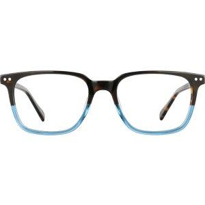 Tortoiseshell Square Glasses #4435925 | Zenni Optical Eyeglasses