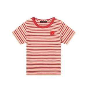 Acne StudiosKids Striped Poppy Red T-shirt