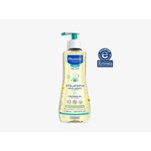 Mustela洗发沐浴油