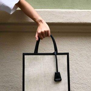 罕见7.5折!£195就收格纹托特Mirta 托特包专场 意大利手工质感品牌  热门包型全都有