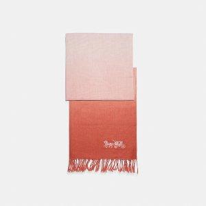 Coach买2件围巾享额外8折棉麻渐变围巾