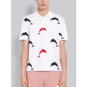 Thom Browne海豚 Polo衫