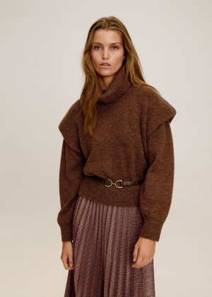 Turtleneck sweater -  Women | Mango USA