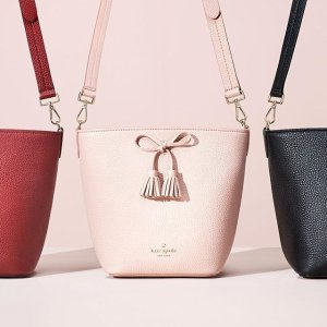 up to 75% off + 10% Off Your Order of $150Bag Sale @ Kate Spade