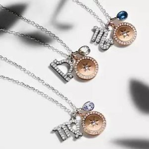 优惠到手¥499Swarovski 星座系列 密镶水晶项链