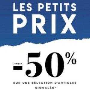 低至5折 €16收Nike logoT恤LE BHV les petits prix专区大促 收Fila、Toms、Tommy Hilfiger等