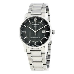 Lowest priceTISSOT T-Classic Titanium Automatic Black Dial Men's Watches